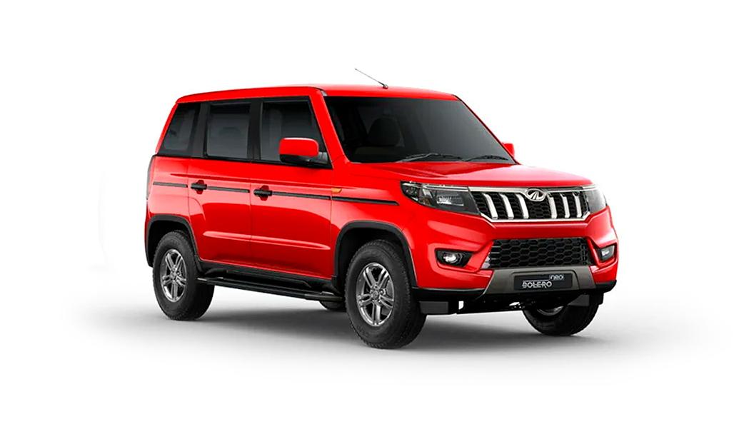 Mahindra  Bolero Neo Highway Red Colour