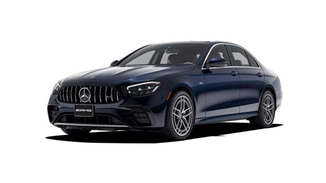 Mercedes Benz  AMG E53 Cavansite Blue Colour