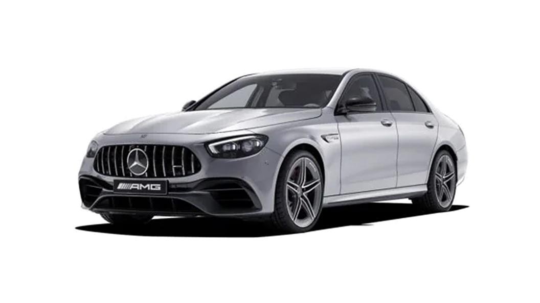 Mercedes Benz  AMG E53 Hi-Tech Silver Colour