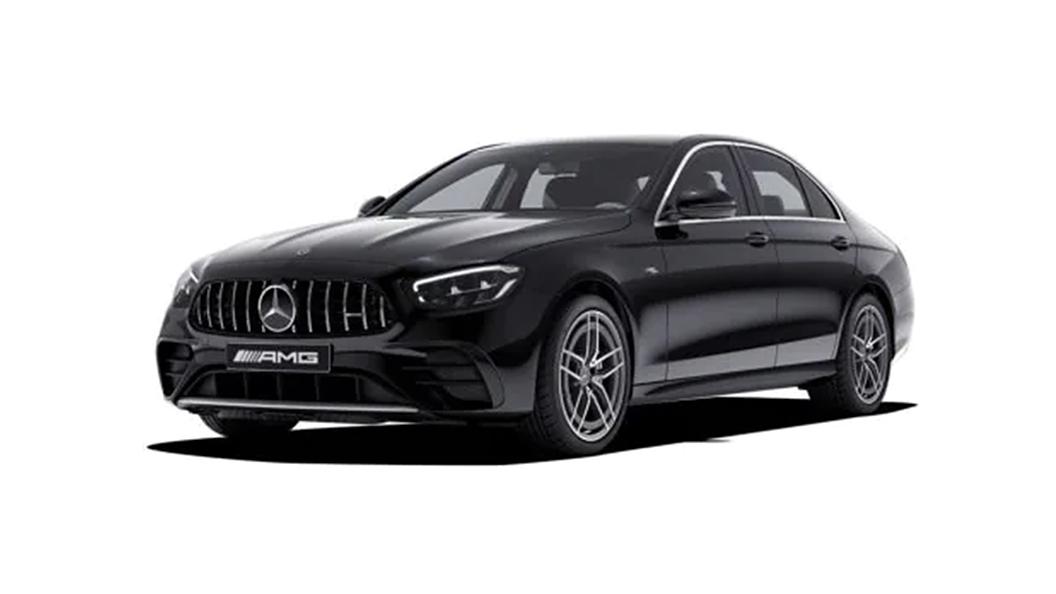 Mercedes Benz  AMG E53 Obsidian Black Colour