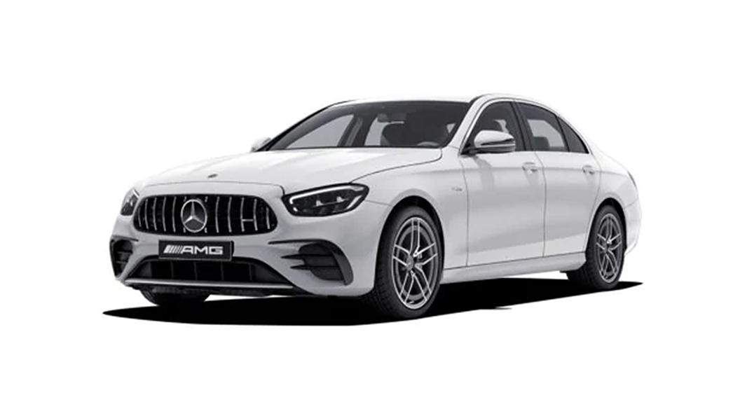 Mercedes Benz  AMG E53 Polar White Colour