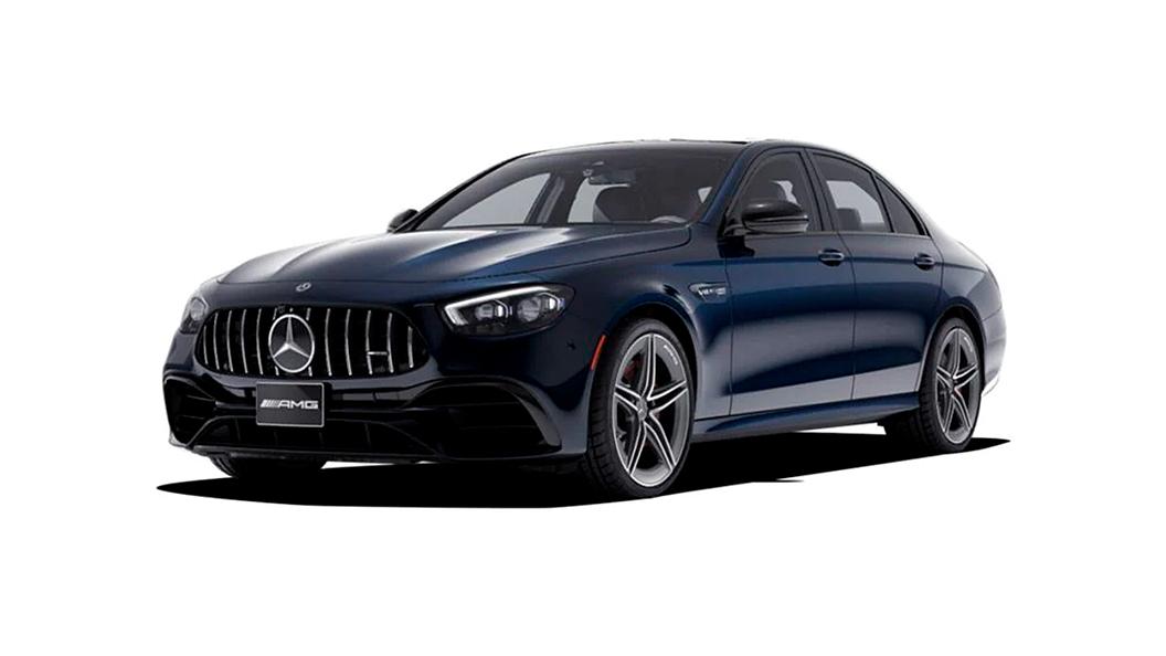 Mercedes Benz  AMG E63 Cavansite Blue Colour