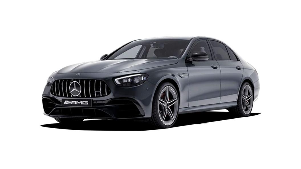 Mercedes Benz  AMG E63 Selenite Grey Colour