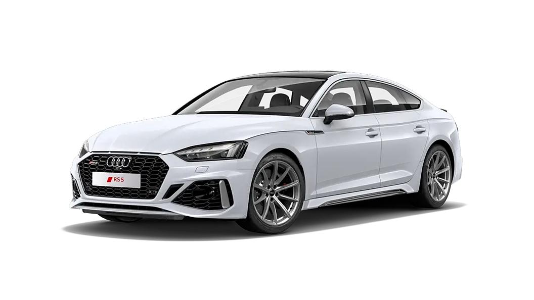 Audi  RS5 Glacier White Colour