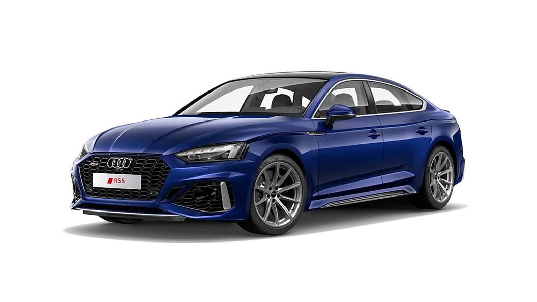 Audi  RS5 Navarra Blue Colour
