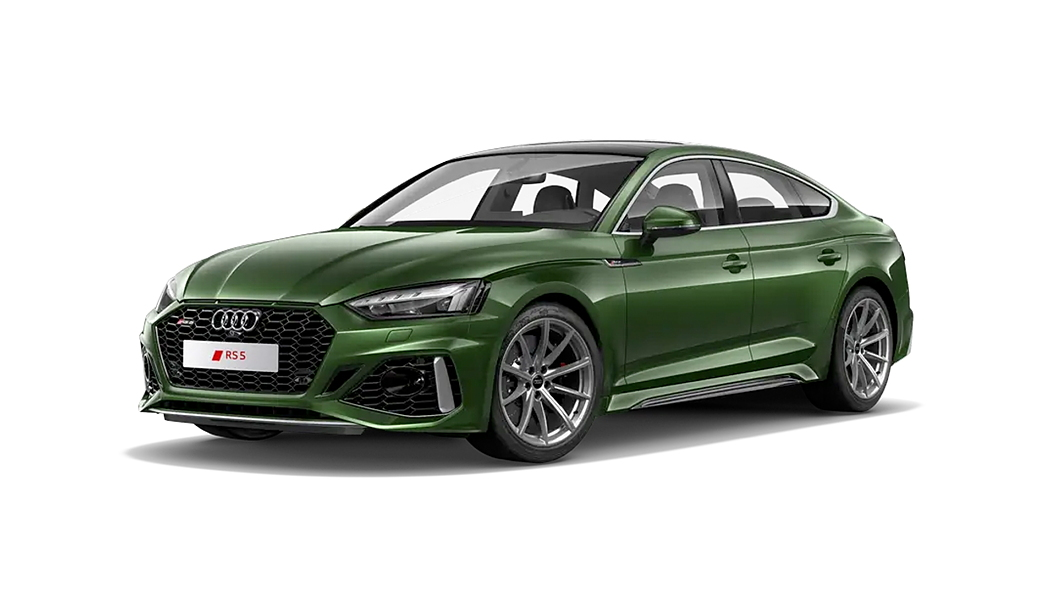 Audi  RS5 Sonoma Green Colour