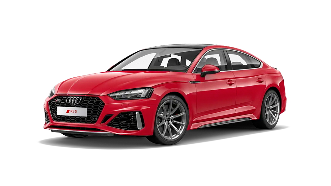 Audi  RS5 Tango Red Colour