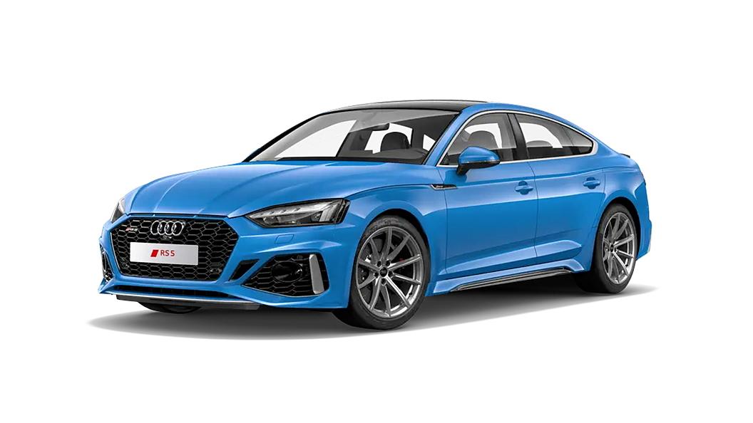 Audi  RS5 Turbo Blue Colour
