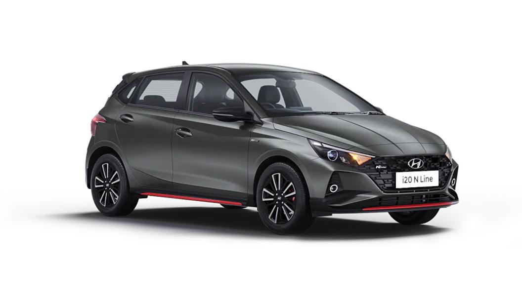 Hyundai  I20 N Line Titan Grey Colour