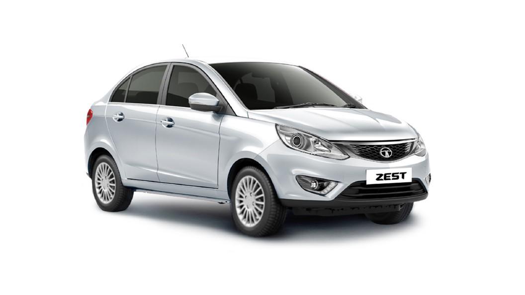 Tata  Zest Platinum Silver Colour