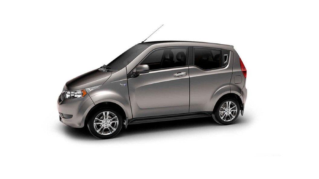 Mahindra  E2o PLUS Arctic Silver Colour