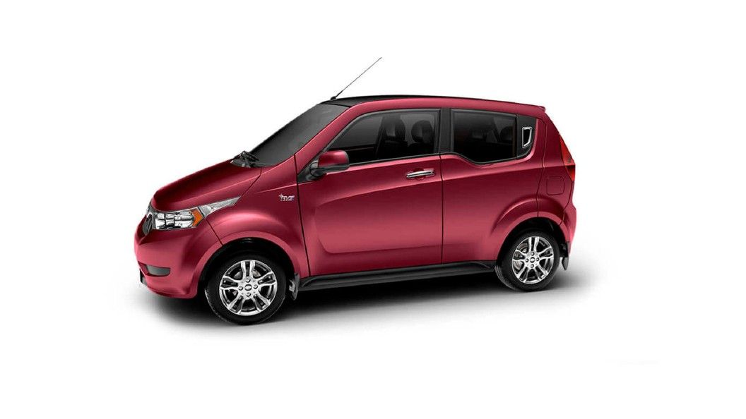 Mahindra  E2o PLUS Wine Red Colour