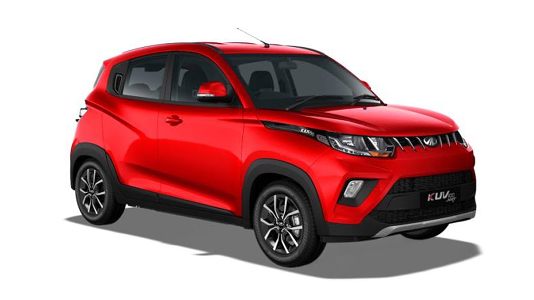 Mahindra  KUV100 NXT Flamboyant Red Colour