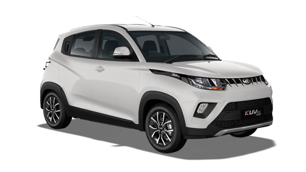 Mahindra  KUV100 NXT Pearl White Colour