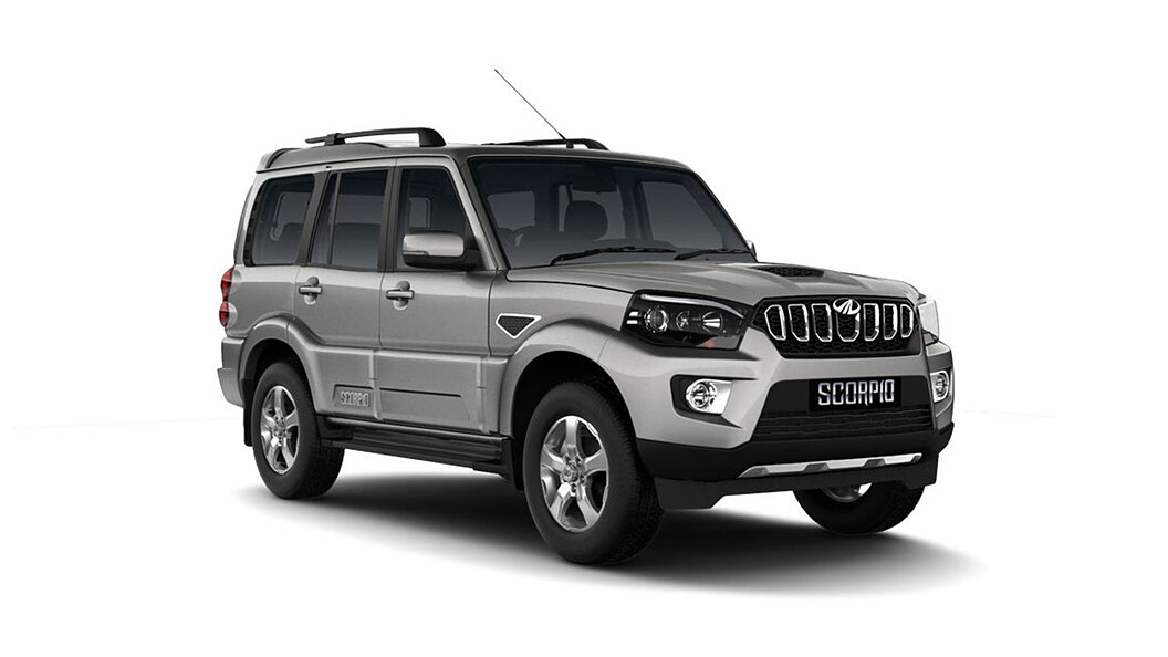 Mahindra  Scorpio DSat Silver Colour