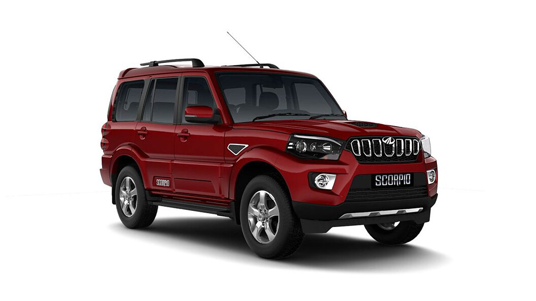 Mahindra  Scorpio Molten Red Colour