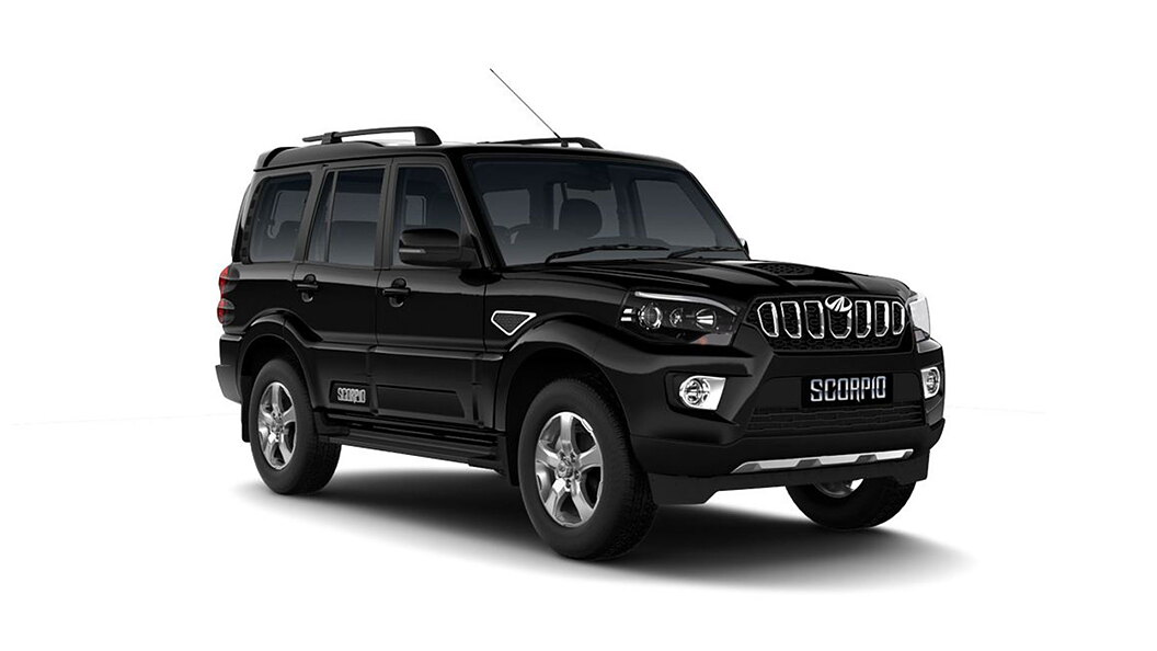 Mahindra  Scorpio Napoli Black Colour
