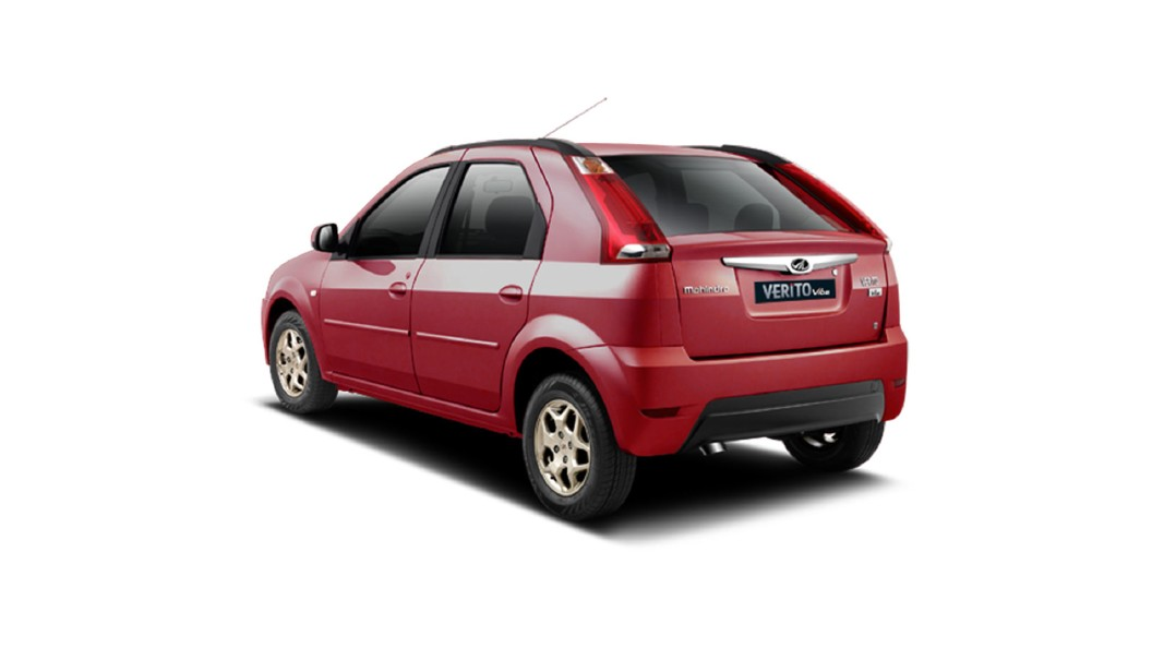 Mahindra  Verito Vibe CS Toreador Red Colour