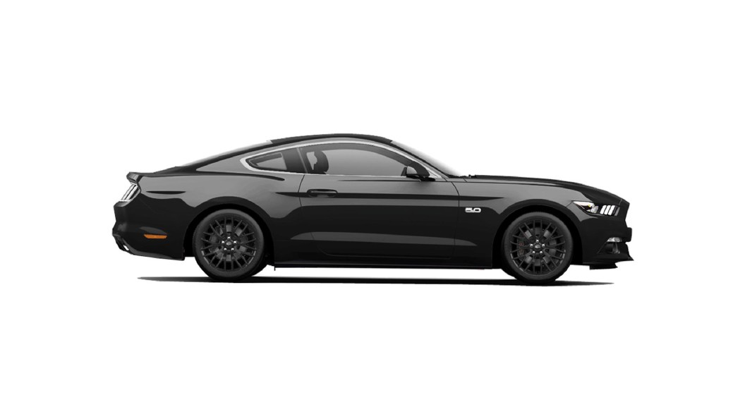 Ford  Mustang Absolute Black Colour