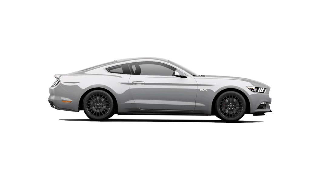 Ford  Mustang Ingot Silver Colour