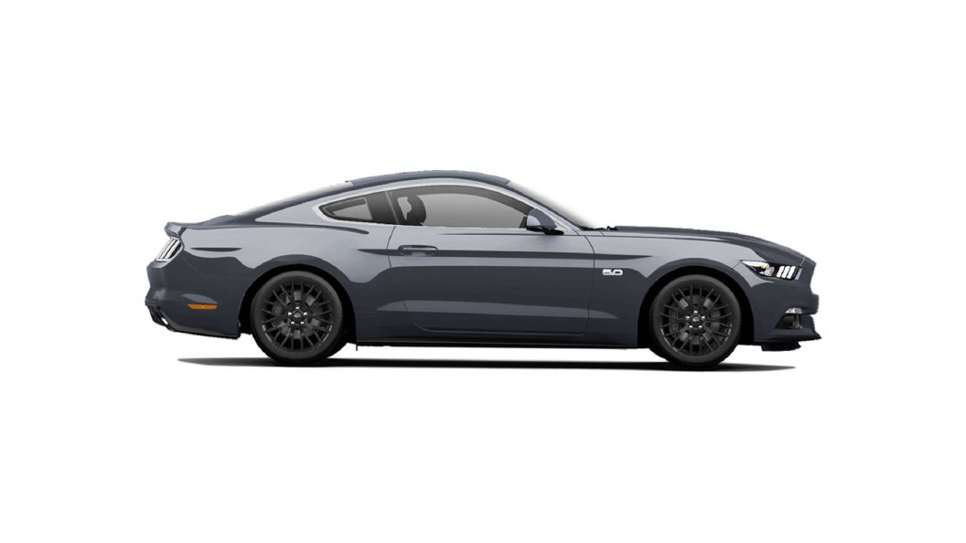 Ford  Mustang Magnetic Colour