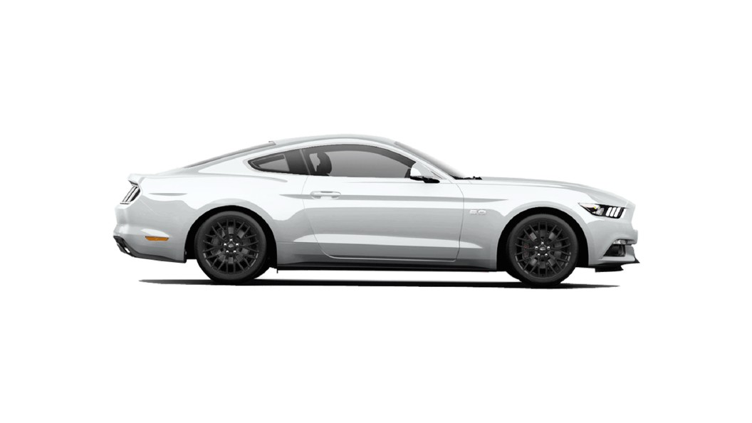 Ford  Mustang Oxford White Colour