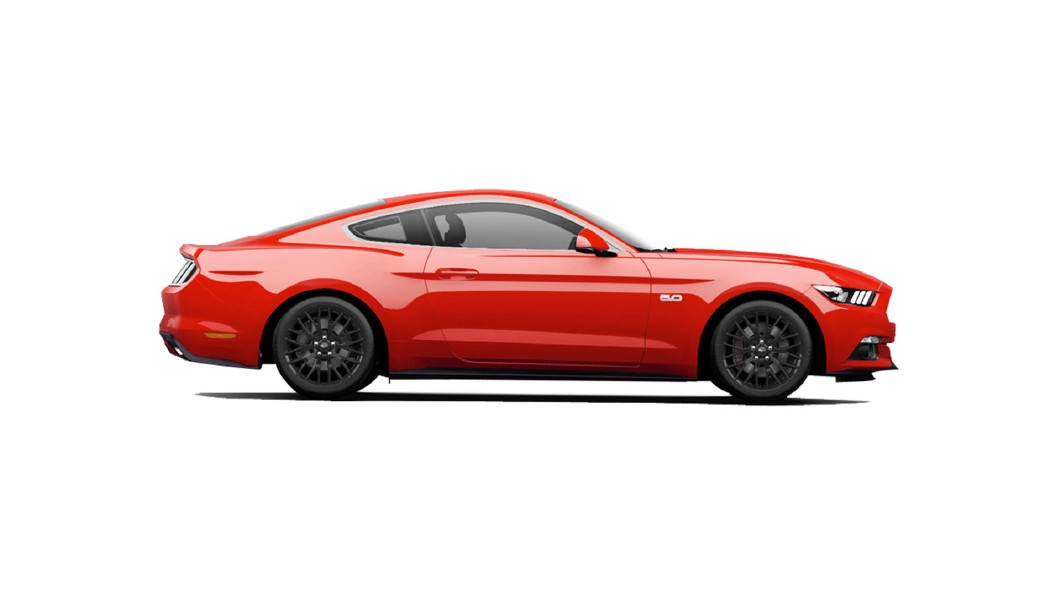 Ford  Mustang Race Red Colour