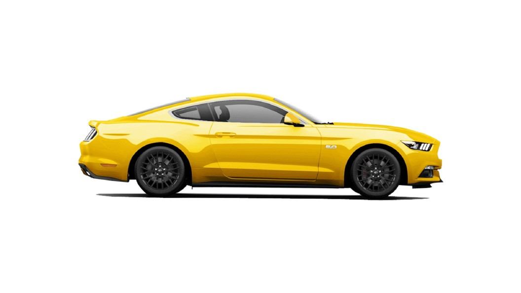 Ford  Mustang Triple Yellow Tri-coat Colour