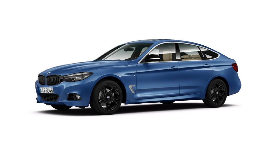 BMW  3 Series GT Estoril Blue Metallic Colour