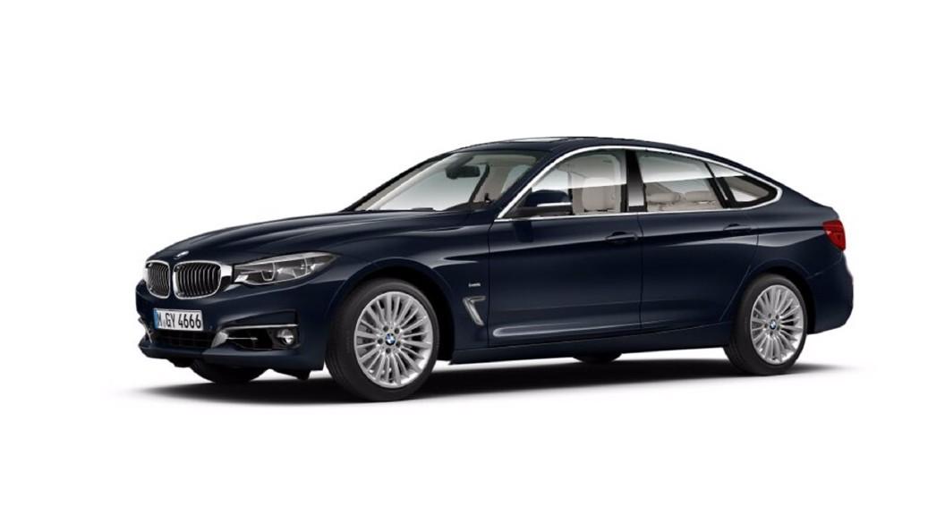 BMW  3 Series GT Imperial Blue Brilliant Effect Colour