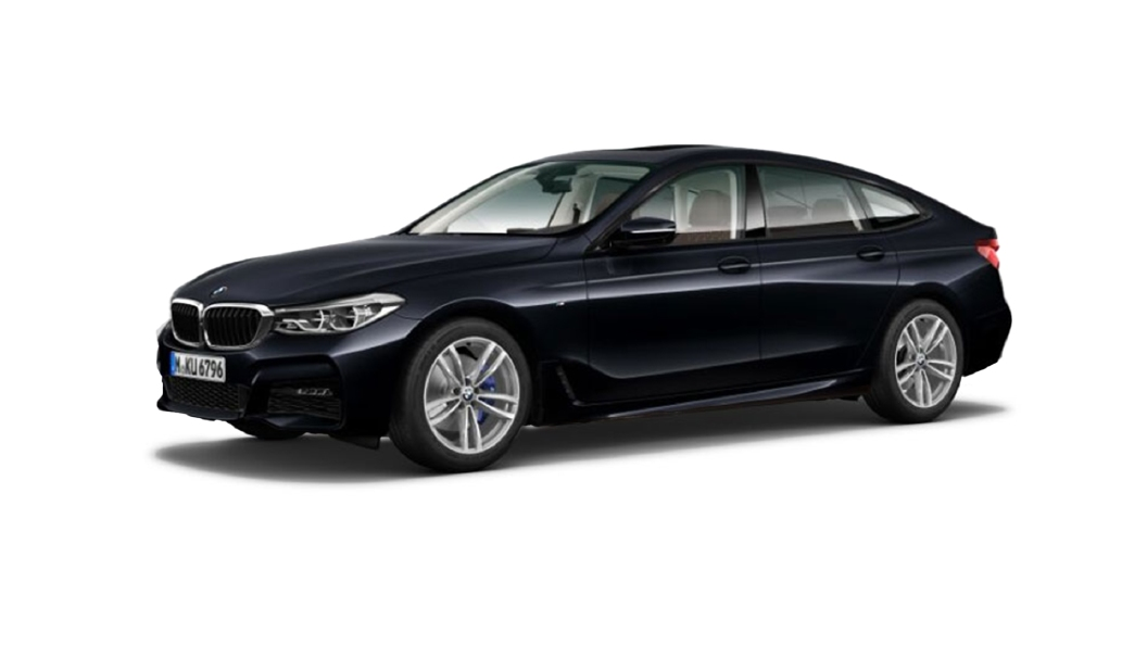 BMW  6 Series GT Carbon Black Colour