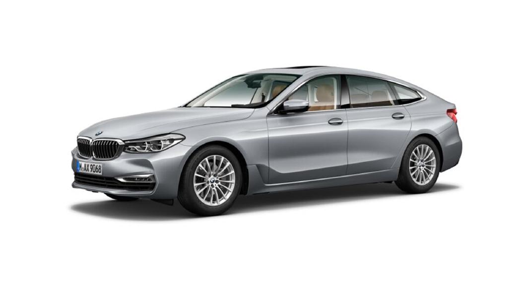 BMW  6 Series GT Glacier Silver metallic Colour