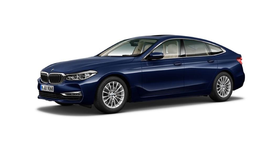 BMW  6 Series GT Mediterranean Blue metallic Colour