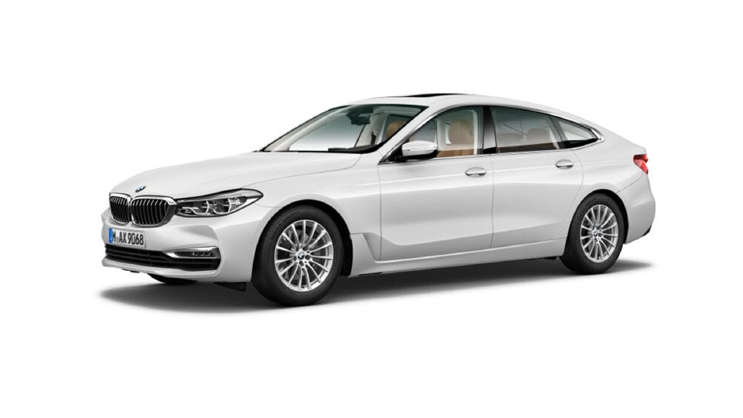 BMW  6 Series GT Mineral White metallic Colour