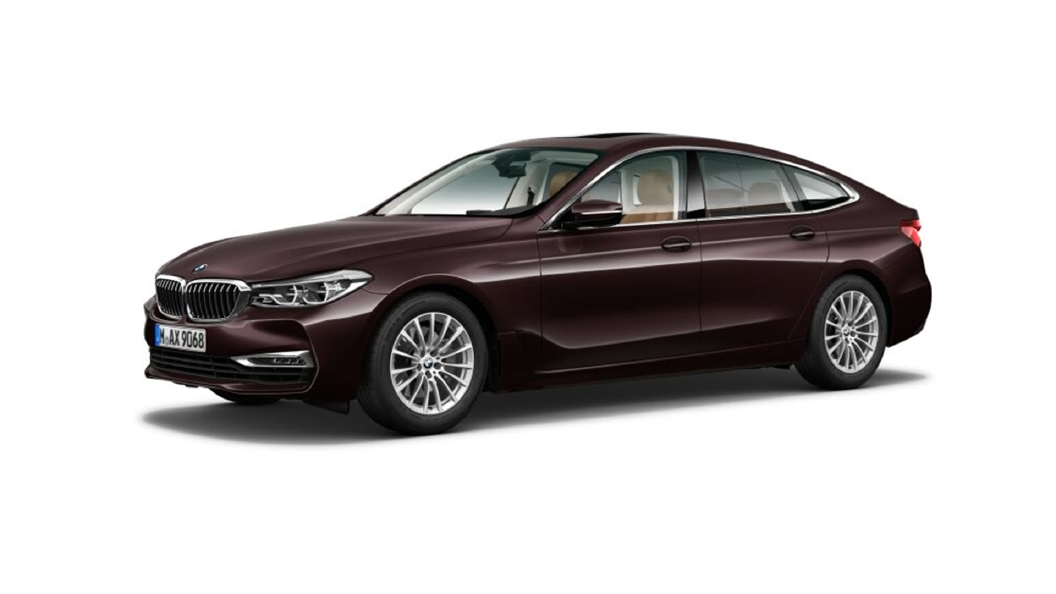 BMW  6 Series GT Royal Burgundy Red brilliant effect metallic Colour