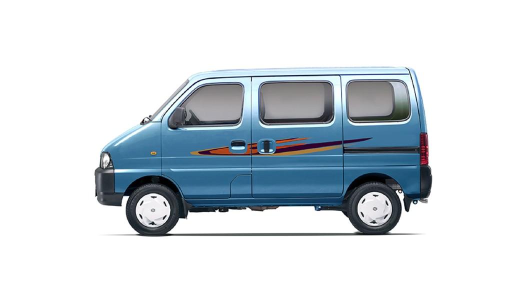 Maruti Suzuki  Eeco Metallic Breeze Blue Colour