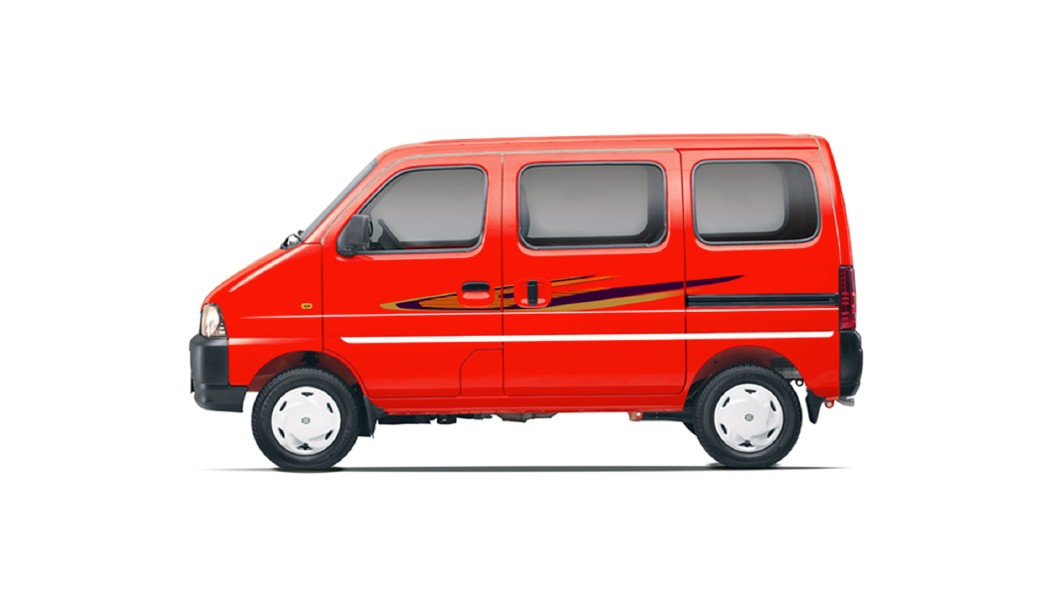 Maruti Suzuki  Eeco Metallic Passion Red Colour