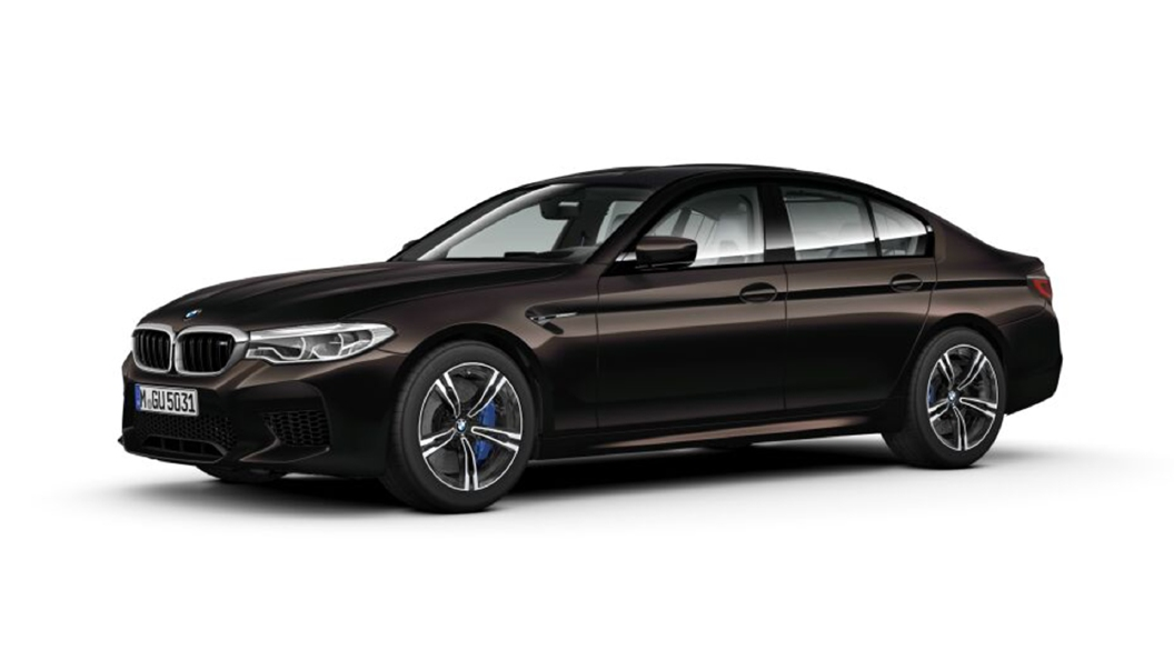 BMW  M5 Almandine Brown metallic Colour