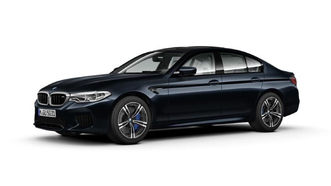 BMW  M5 Azurite Black metallic Colour