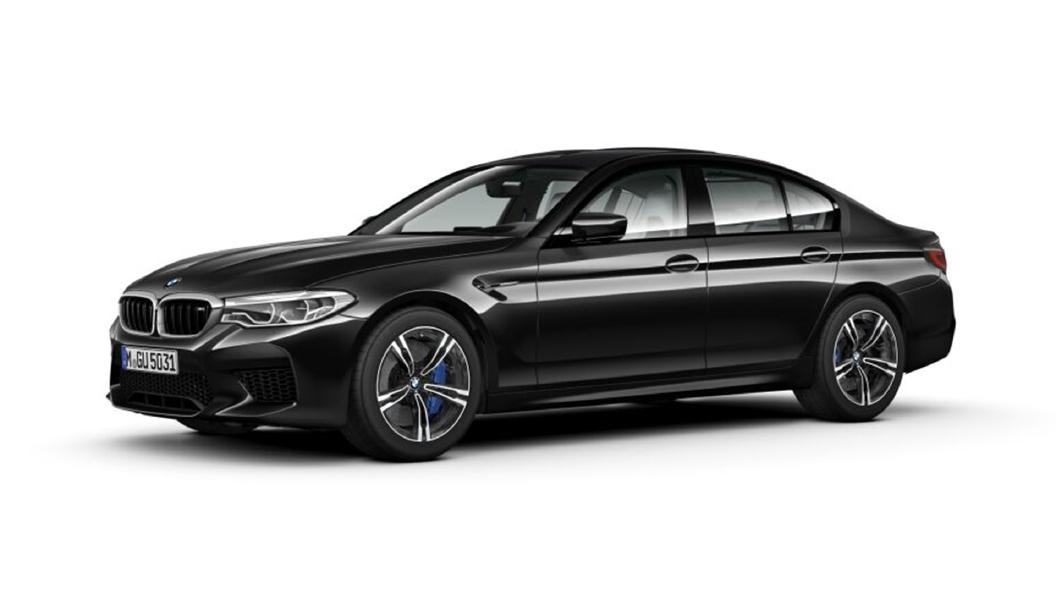 BMW  M5 Black Sapphire Metallic Colour
