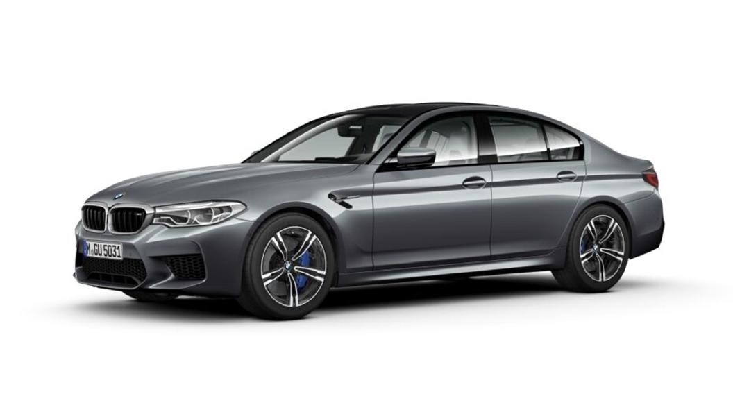 BMW  M5 Bluestone Metallic Colour