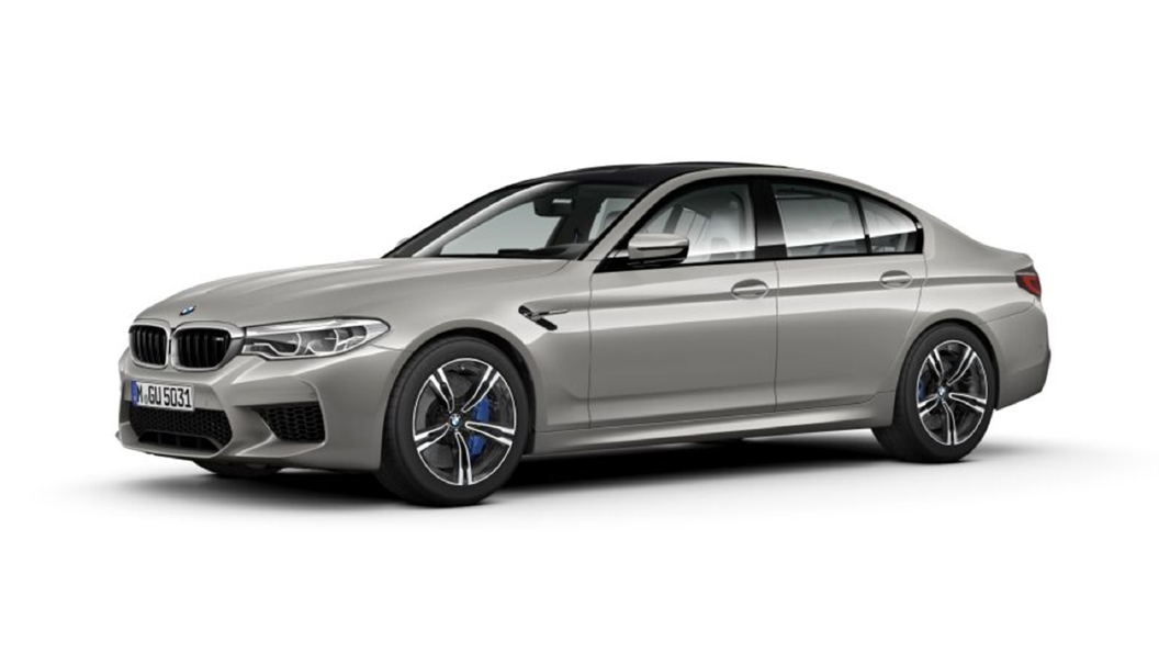 BMW  M5 Donington Grey Metallic Colour