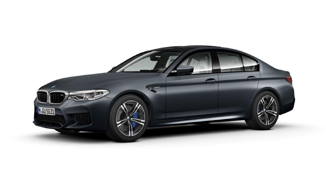 BMW  M5 Frozen Arctic Grey metallic Colour