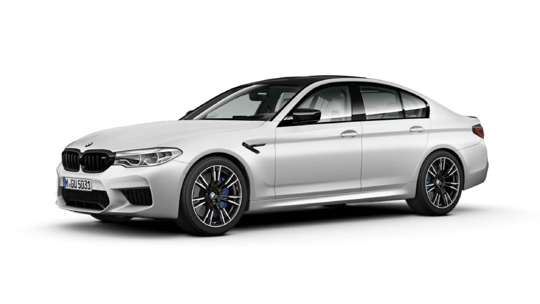 BMW  M5 Frozen Brilliant White metallic Colour