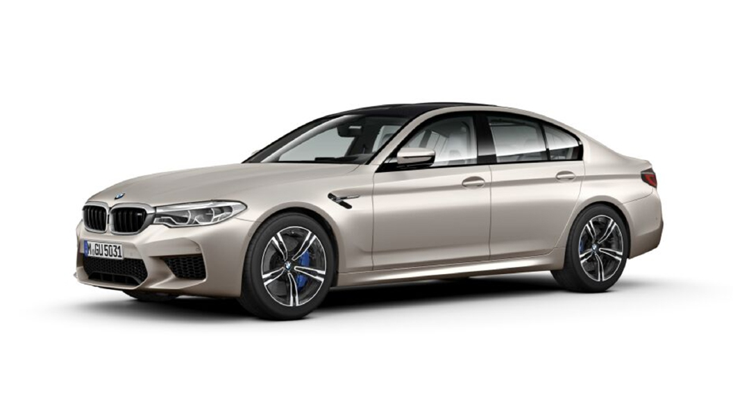 BMW  M5 Frozen Cashmere Silver metallic Colour