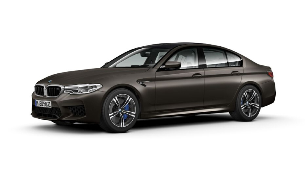 BMW  M5 Frozen Dark Brown metallic Colour