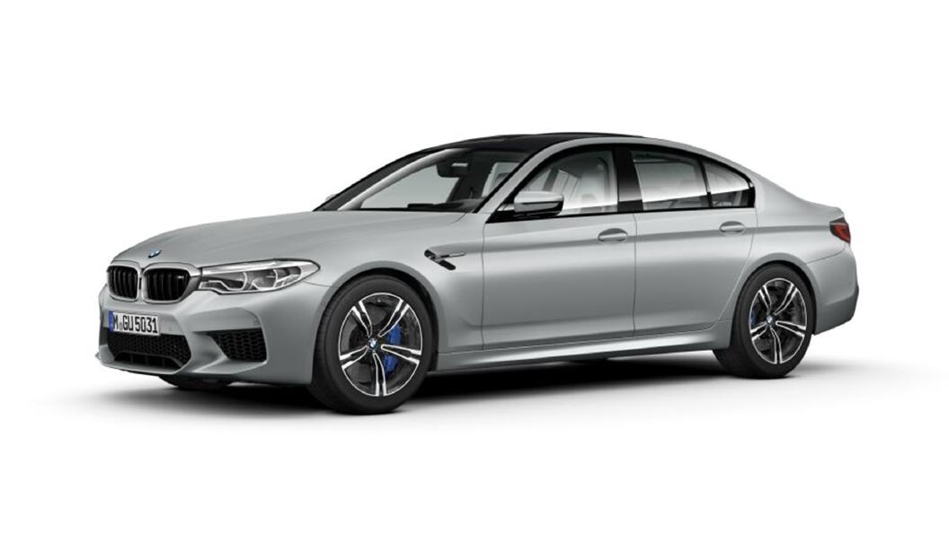 BMW  M5 Frozen Dark Silver metallic Colour