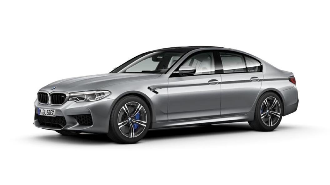 BMW  M5 Pure metal Silver Colour