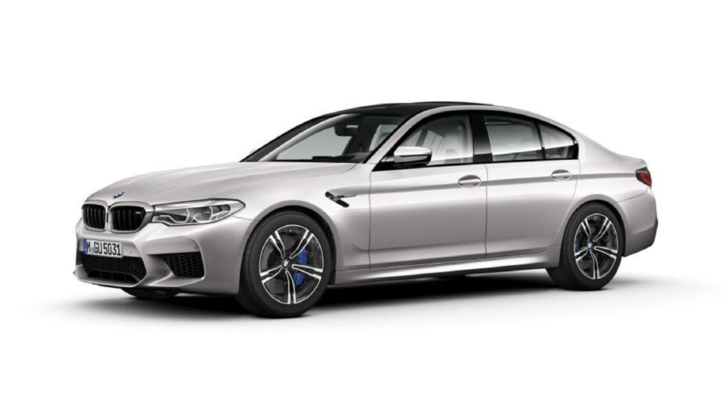 BMW  M5 Rhodonite Silver metallic Colour