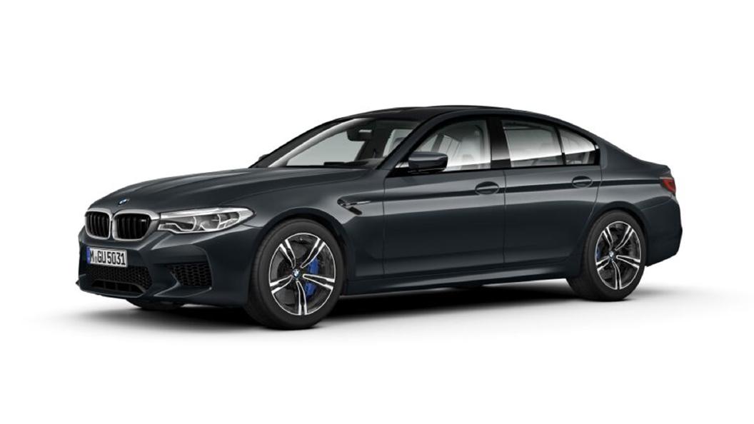 BMW  M5 Singapore Grey Metallic Colour